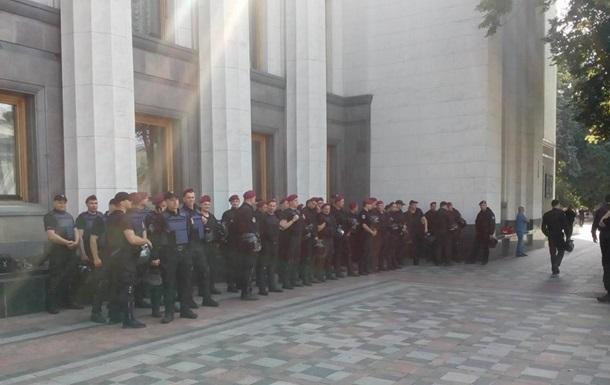 Охорону Ради посилили через мітинг