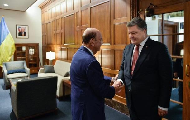 Порошенко обсудил приватизацию с министром торговли США