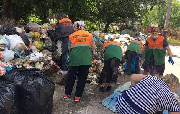 У Гройсмана приховують, куди вивезуть сміття зі Львова