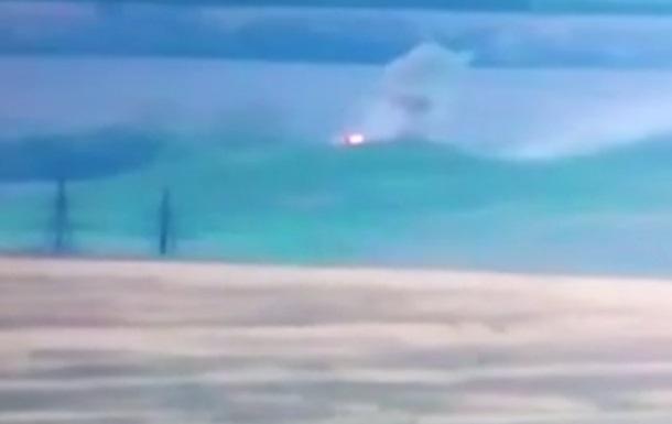 Волонтер показал уничтожение опорного пункта ДНР
