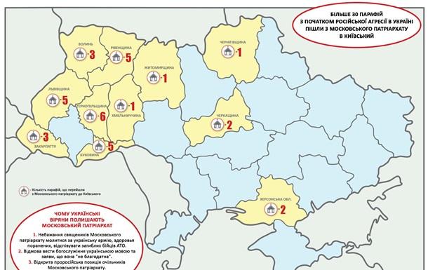 Залишаємо Московський Патріархат через антиукраїнську позицію