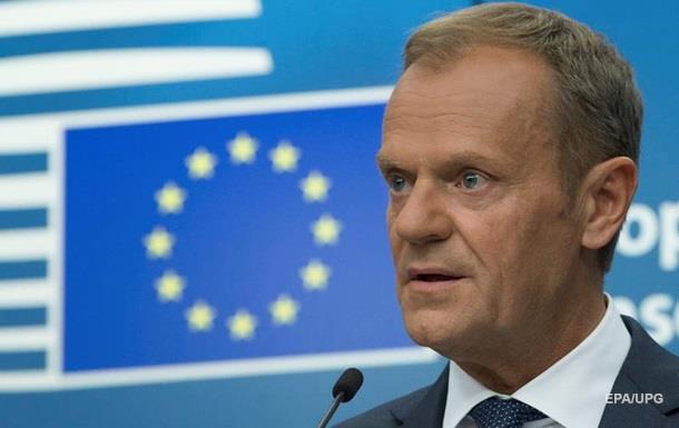 Туск: ЄС продовжить санкції проти Росії