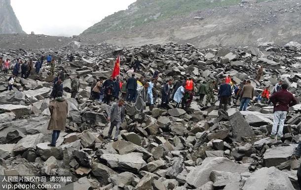 Оползень в Китае: число пропавших выросло