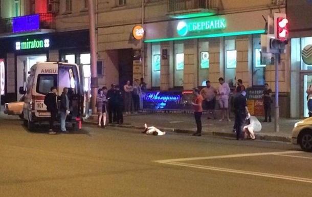 В центре Харькова зарезали иностранца