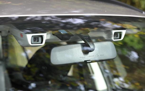 Subaru привезла в Украину автомобиль, который  видит  опасность ДТП