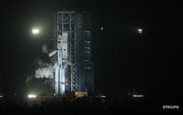 З явилося відео пуску китайської ракети Чанчжен-5