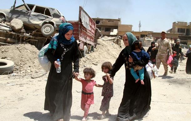 ООН: У Мосулі заблоковані тисячі цивільних