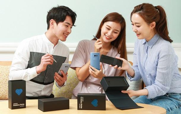 Samsung офіційно представила відновлений Note 7