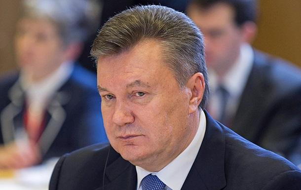 Янукович подал иск на Ощадбанк о защите репутации