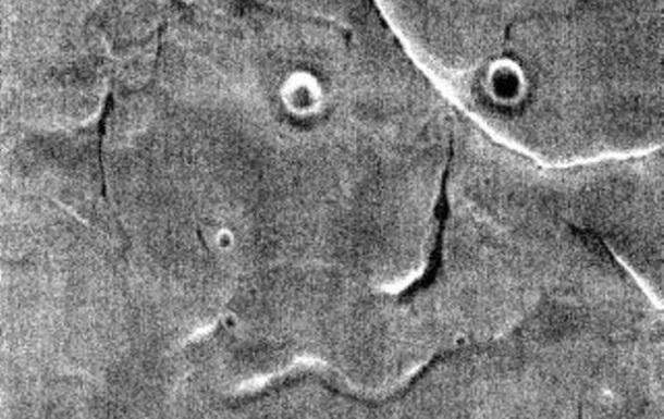 NASA опублікувало фото  обличчя  на Марсі