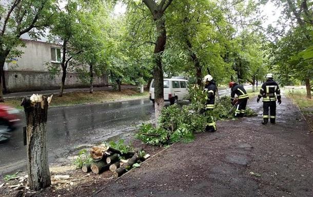 У Києві та області оголосили штормове попередження