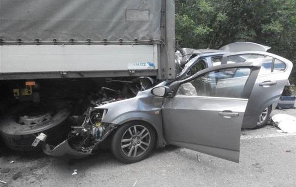 На Черкащині у ДТП загинули чотири людини