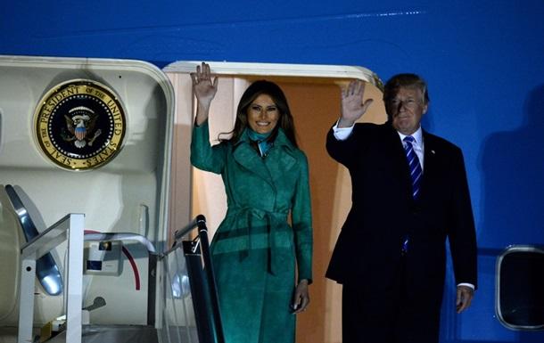 Трамп прибыл в Польшу с визитом