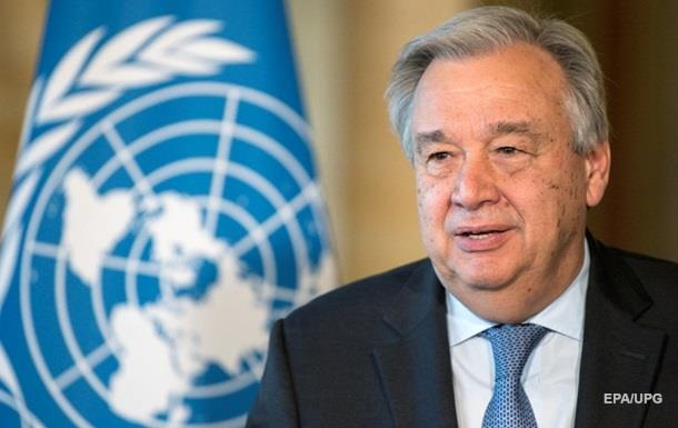 Визначено дату приїзду генсека ООН до Києва