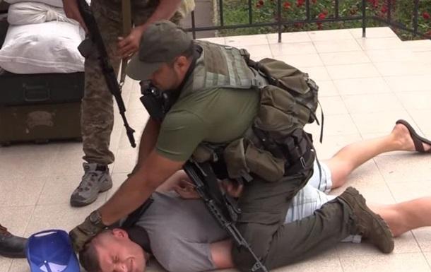 Ранение журналиста на учениях: появилось видео
