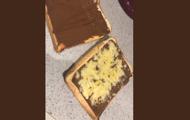 Бутерброд с шоколадом и сыром шокировал Сеть