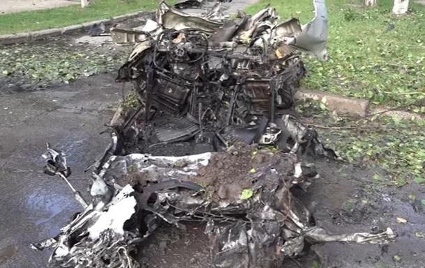 У ЛНР показали наслідки вибуху в Луганську