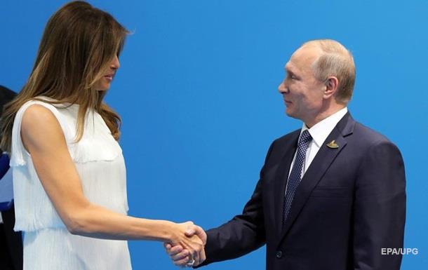 Тиллерсон: Жена Трампа не смогла оторвать его от Путина