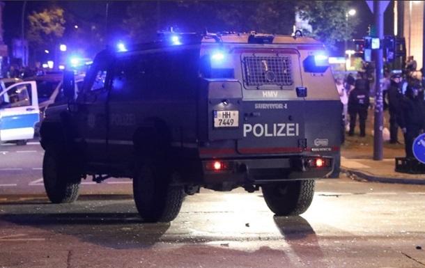 В Гамбурзі оголосили про початок операції проти демонстрантів