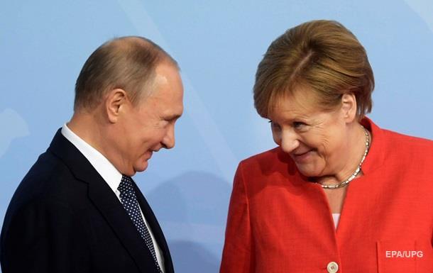 Путін, Меркель і Макрон обговорять ситуацію в Україні