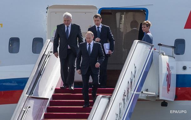 Літак Путіна на шляху на G20 обминув країни НАТО