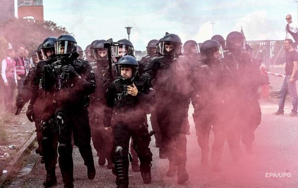 В Гамбурге в ходе беспорядков пострадали почти 200 полицейских