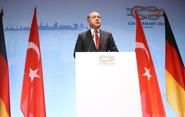 Ердоган: Санкції проти Катару несправедливі