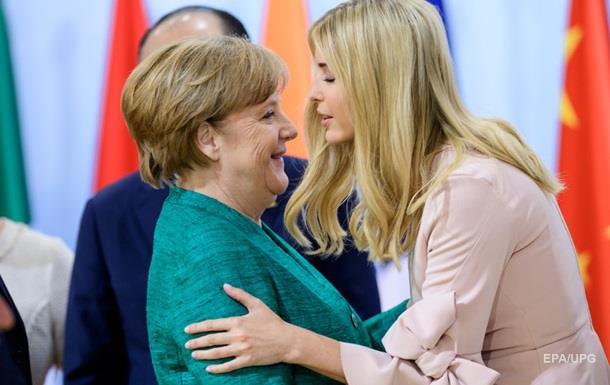 Меркель висловилася про заміну Трампа його донькою на G20