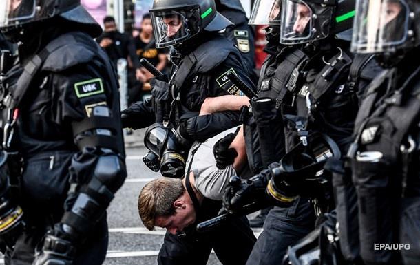 В Гамбурге задержали почти 300 противников G20