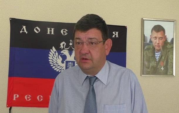 В ДНР заявили о ранении главы Горловки