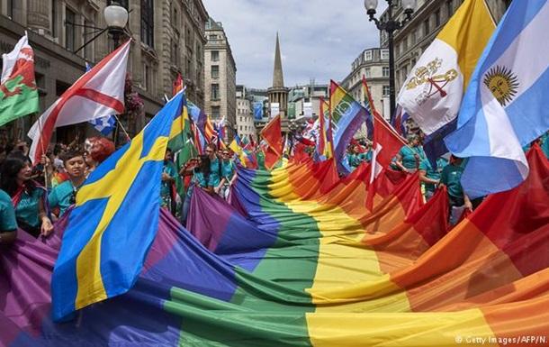 У Лондоні відбувся найбільший в історії британської столиці гей-парад