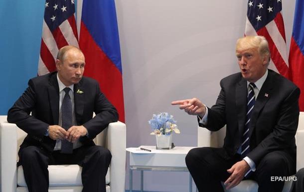 СМИ: Трамп и Путин спорили 40 минут