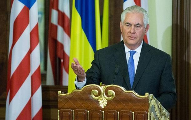 Тиллерсон: Санкции против РФ сохранятся