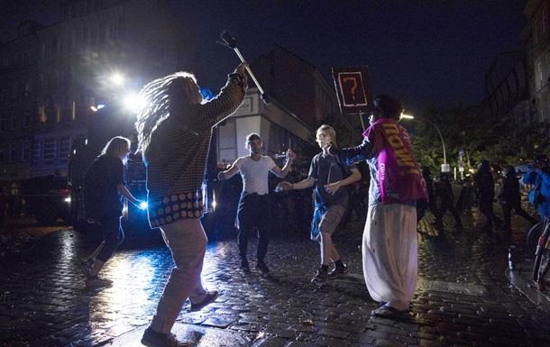 У Кремлі протести в Гамбурзі назвали хуліганством