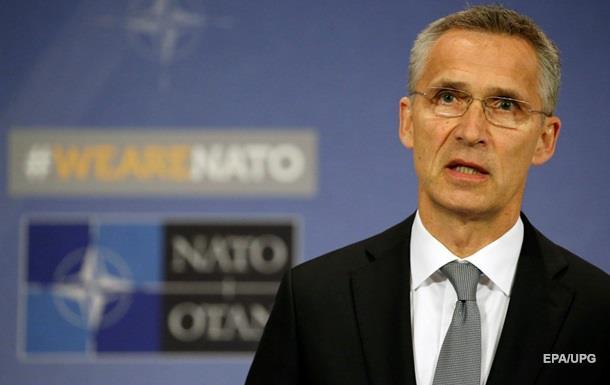 Генсек НАТО прибыл с визитом в Украину