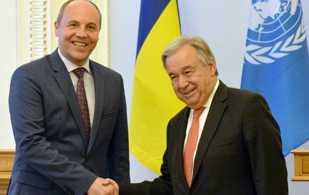 Парубій за позбавлення РФ права вето в Радбезі ООН