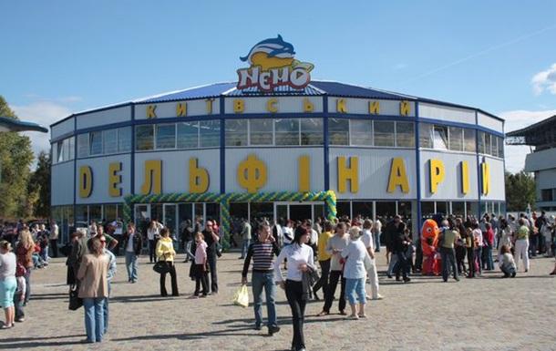 На киевский дельфинарий Немо наложили арест