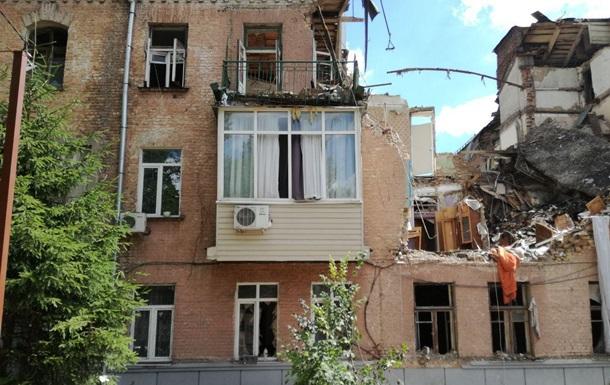 Пострадавший от взрыва дом в Киеве не подлежит восстановлению