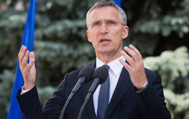 Столтенберг: РФ повинна вивести війська з України
