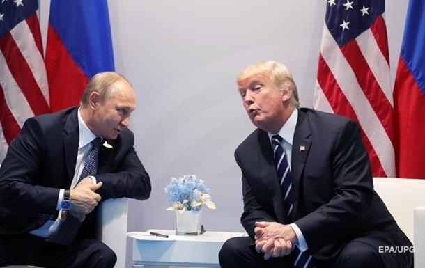 Білий дім: Трамп і Путін обговорювали санкції