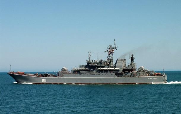 Російський десантний корабель увійшов у Середземне море