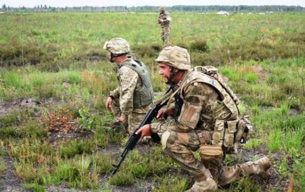 За сутки в АТО погиб один украинский военный