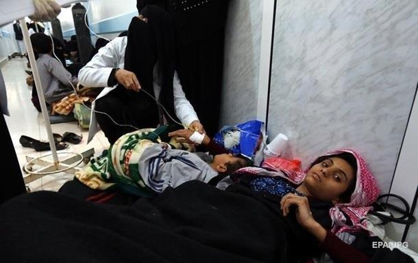 У Ємені на холеру захворіли 300 тисяч осіб