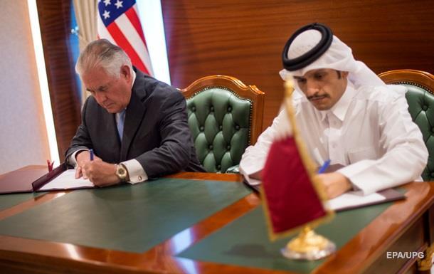 США и Катар подписали соглашение о борьбе с терроризмом