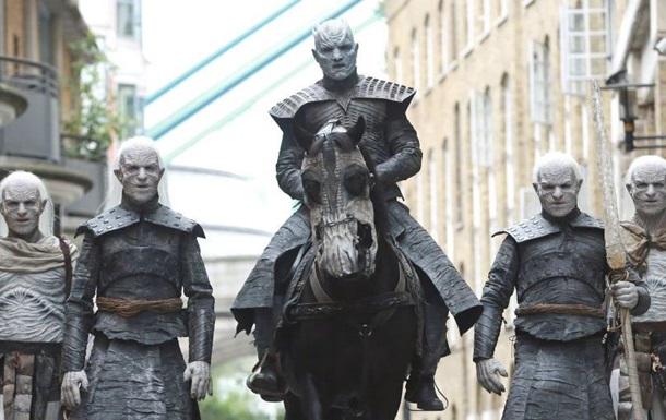 В центре Лондона появились  белые ходоки  из Игры престолов