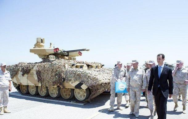 NI: Россия отправила танк Терминатор-2 на испытания в Сирию