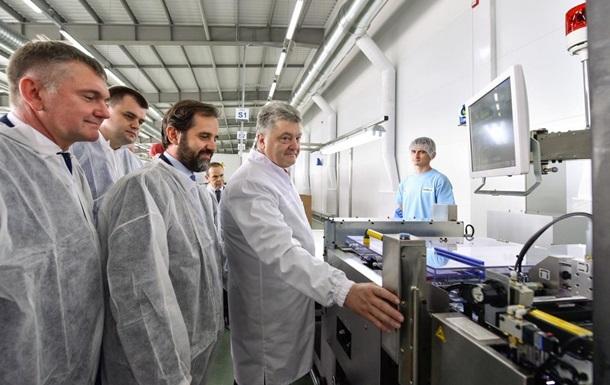 Порошенко: За період АТО відкрили 60 нових заводів