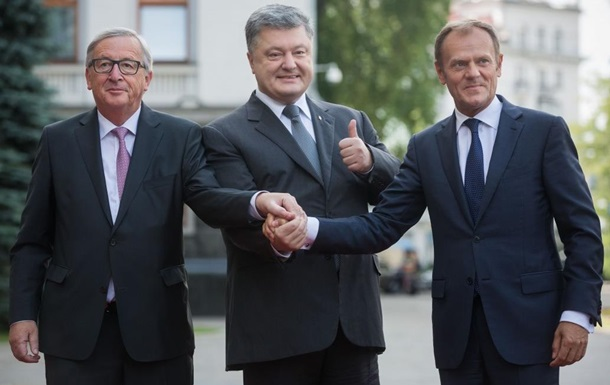 Порошенко обсудил с лидерами ЕС план Маршалла