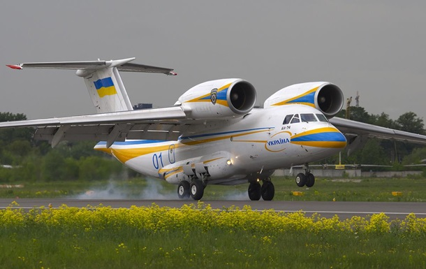 Украина построит для Казахстана самолет Ан-74
