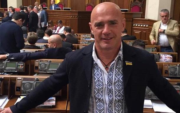 Депутат Константіновський відмовився від мандата